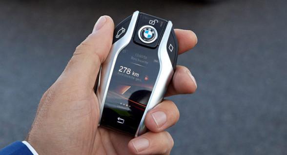 Inteligentny kluczyk w nowym BMW Serii 7