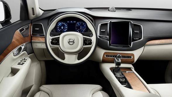 Wnętrze w nowym Volvo XC90 wygląda naprawdę futurystycznie