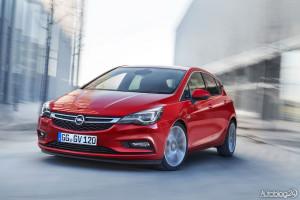 Nowy Opel Astra V generacji - zadziorny przód
