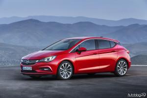 Nowy Opel Astra V generacji - charakterystyczny słupek C
