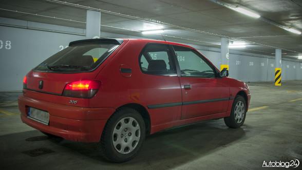 Peugeot 306 - samochód o bardzo dobrej widoczności