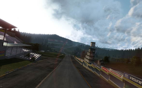 Spa-Francorchamps - jeden z torów w Project CARS