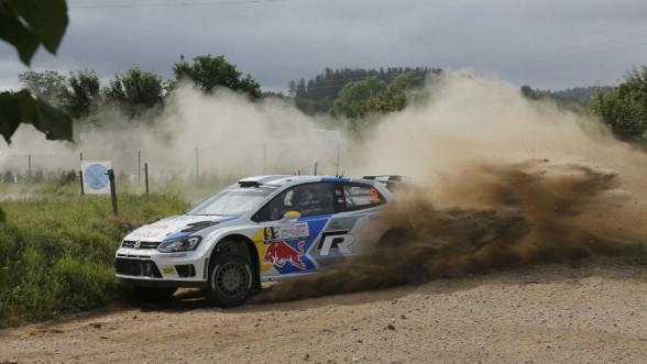 Rajd Polski - Volkswagen Polo WRC będzie ścigał się na OS'ach