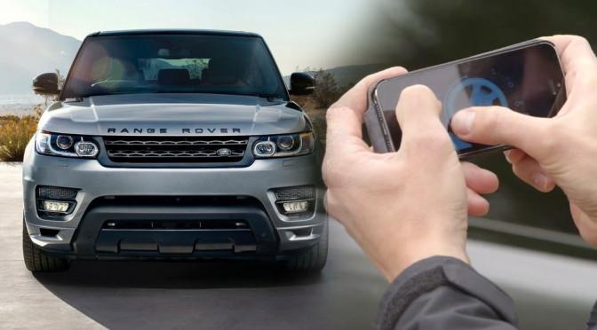 Range Rover - wystarczy smartfon i mamy zdalnie sterowany samochód... w skali 1:1!