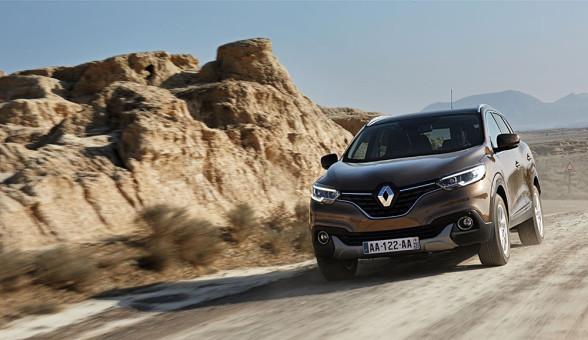 Zadziorny przód w Renault Kadjar