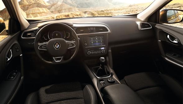 Wnętrze Renault Kadjar wygląda naprawdę dobrze