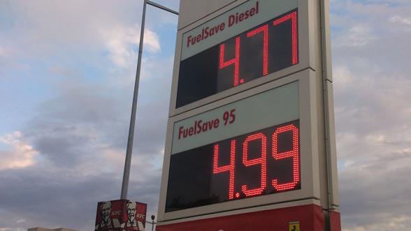 Ceny paliw na Shell zbliżają się do 5 zł za litr