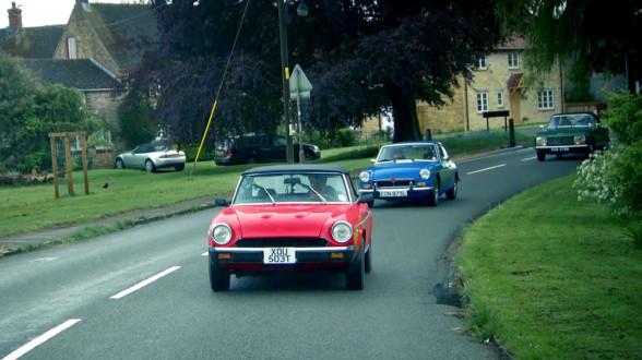 Klasyczne samochody często pojawiały się w Top Gear