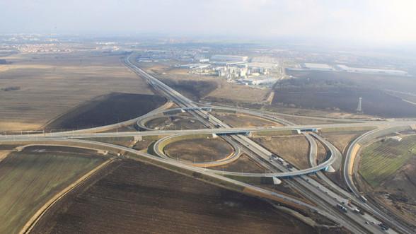 Rozbudowany węzeł drogowy we Wrocławiu