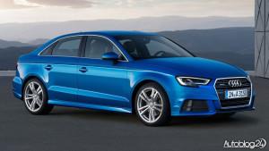 Audi A3 facelifting 2016 - Sedan