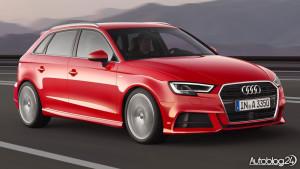 Audi A3 facelifting 2016 - Sportback