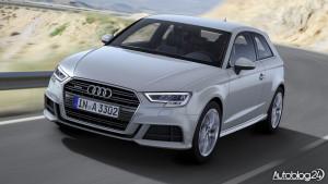 Audi A3 facelifting 2016 - przód