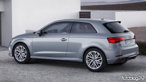 Audi A3 facelifting 2016 - tył