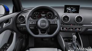 Audi A3 facelifting 2016 - wnętrze