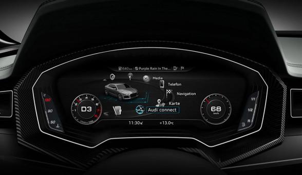 Elektroniczne zegary w Audi robią świetne wrażenie