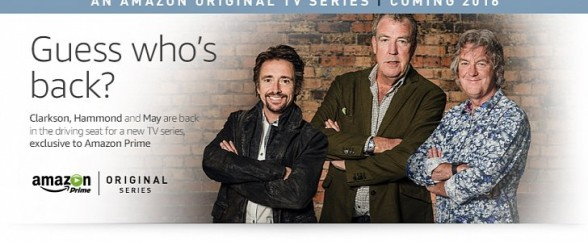 Clarkson wraca z nowym programem na Amazon Prime