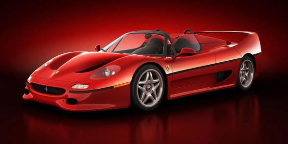 Model F50 - najbrzydsze Ferrari w historii?