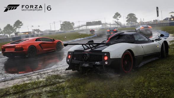 Pagani Zonda w Forza Motorsport 6