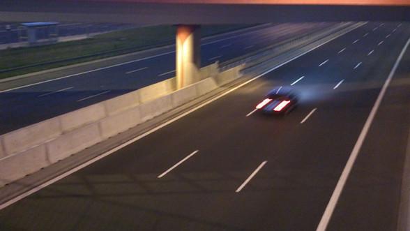 Na POW samochody bardzo często jeżdżą środkiem
