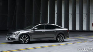 Renault Talisman - dynamiczna linia boczna