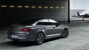 Renault Talisman - tył wygląda naprawdę rewelacyjnie