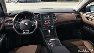 Renault Talisman - wnętrze wygląda luksusowo