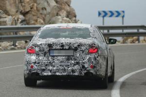 BMW Seria 5 G30 - zdjęcie z tyłu