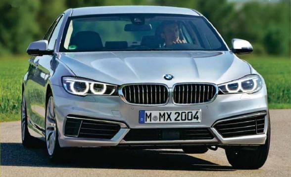 Wizja przodu nowego BMW Serii 5 G30