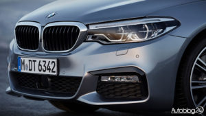 BMW Serii 5 G30 - światła LED