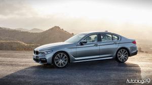 BMW Serii 5 G30 - przód