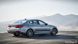BMW Serii 5 G30 - tył