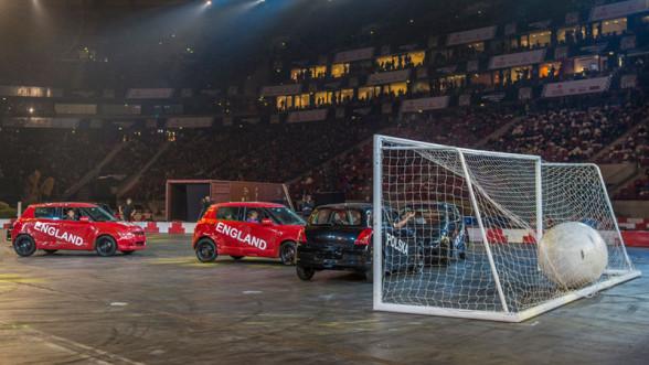 Mecz piłkarski na Verva Street Racing 2015