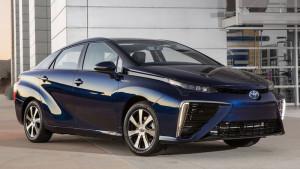 Przód modelu Toyota Mirai
