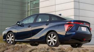 Tył modelu Toyota Mirai