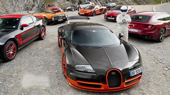 Najszybsze samochody w Top Gear