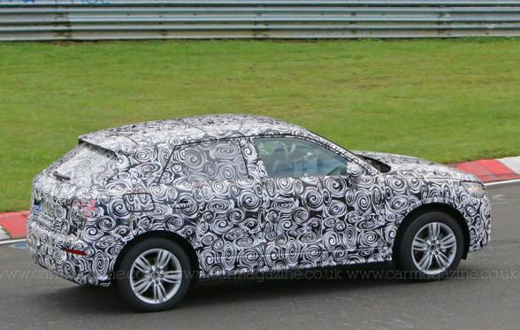 Zdjęcie szpiegowskie Audi Q2