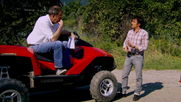 Clarkson i Hammond w trakcie 21 sezonu Top Gear