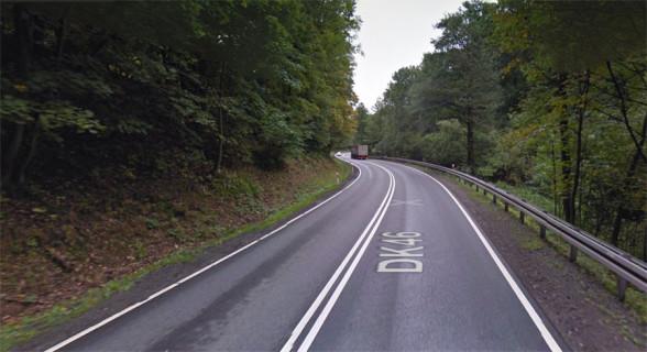 Droga Krajowa 46 - górski odcinek