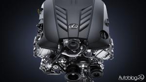 Lexus LC 500 - wolnossący silnik V8