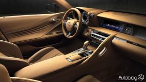 Luksusowe wnętrze w LC 500