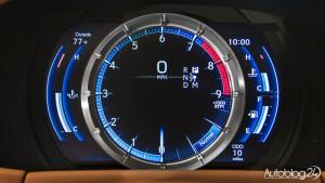 Zegary w Lexusie LC 500