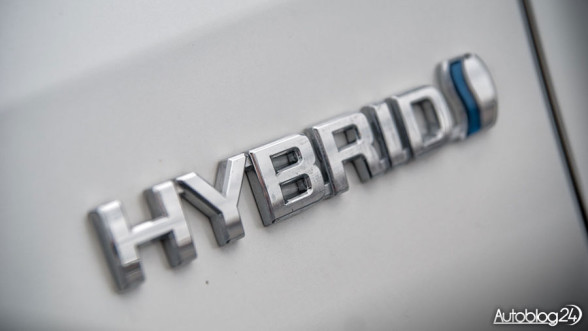 Toyota Hybrid - logo
