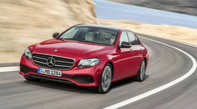 Nowa generacja Mercedesa Klasy E - pierwsze informacje i zdjęcia. Będzie hybryda!