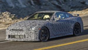 Nowa generacja Nissana GT-R - przednia część nadwozia