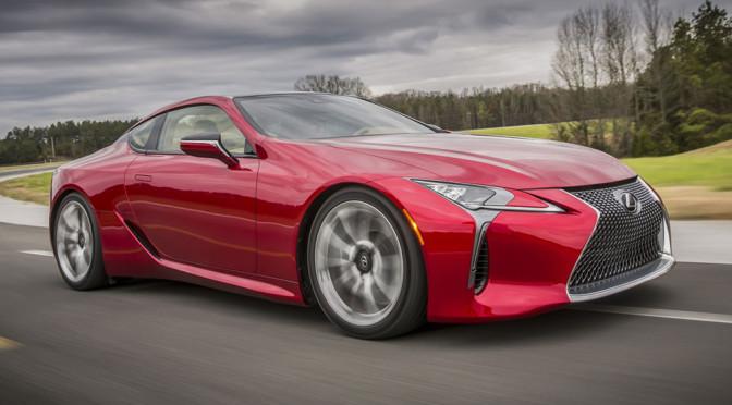Nowy Lexus LC 500 – zdjęcia i 3 cechy, które rzeczywiście wyróżniają ten samochód