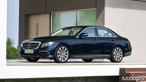 Nowy Mercedes Klasy E (W213) - przód