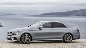 Nowy Mercedes Klasy E (W213) - bok samochodu
