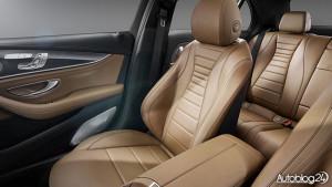 Fotele w nowym Mercedesie Klasy E (W213)