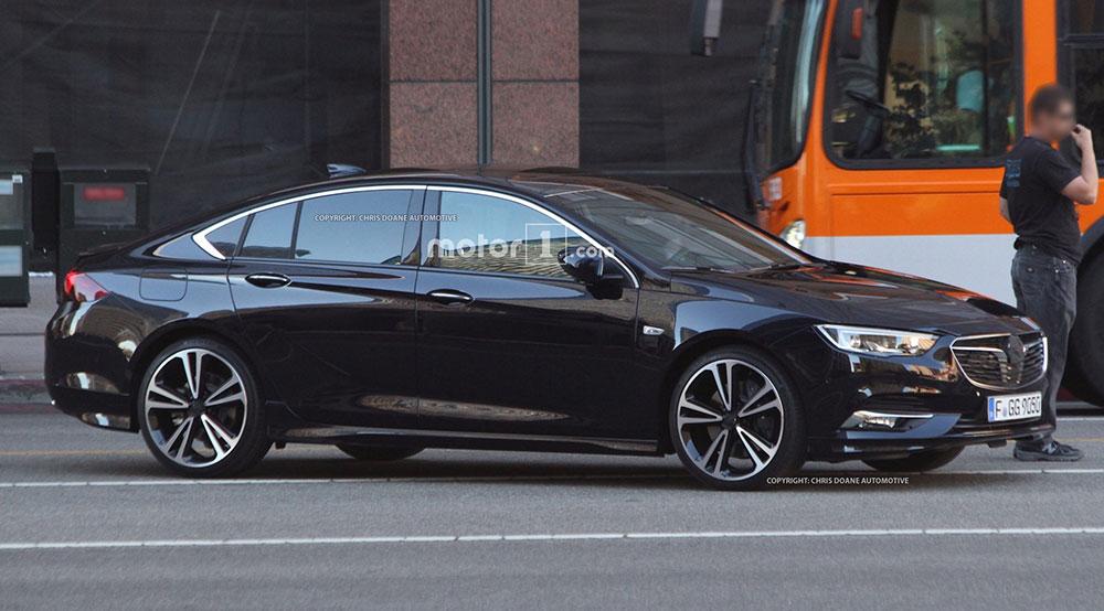 Nowy Opel Insignia II (2017) - zdjęcia szpiegowskie bez ...