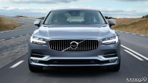 Przód nowego Volvo S90